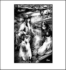 PIRATE FAMILY (Derek Hyamson (5 Million views)) Tags: hdr pirates waterfront albertdock liverpool mersey