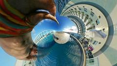 Diving with M. C. Escher.