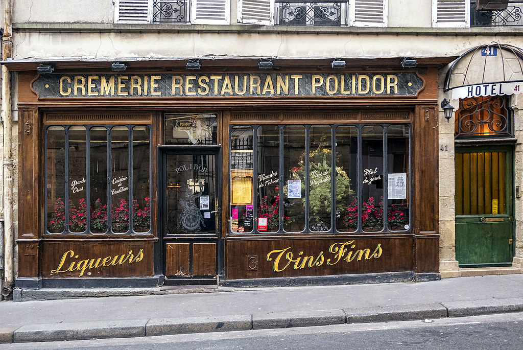 8 Literary Places in Paris: Polidor
