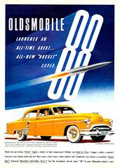 Oldsmobile, 1951 (feldenchrist) Tags: rocket88