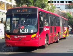 San Marino Mega Volvo B12 M Metrobus (infecktedbusgarage) Tags: volvo brt busrapidtransit metrobus neobus sanmarino mega ciudaddemexico articulado b12m bus méxico cdmx