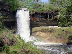 Minnehaha Falls (vapspwi) Tags: minneapolis minnesota minnehaha park waterfall