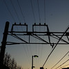 flying birds at dusk (akhr1961) Tags: gr4 wires lines tension