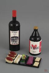 Vinochope (J.B.F) Tags: jimmyfortel jbf wine beer craftbeer tapas 6kyubi6 lego moc food vinochope bottle