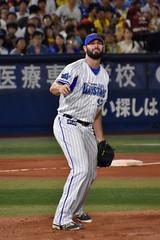 #97 マイク・ブロードウェイ / 横浜DeNAベイスターズ (bxsekkiexb) Tags: baystars baseball hanshin 横浜denaベイスターズ 阪神タイガース