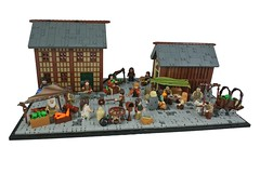 The Tourney - R2 - Market Street (-Balbo-) Tags: lego moc tourney balbo creation bauwerk
