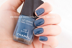 .:: Chanel - Blue Boy ::. (Cinthia Emerich) Tags: esmalte unha nail nailpolish nailenamel naillacquer nailvarnish chanel lesjeans blueboy azul blue bleu
