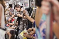 ARTE EN LA CALLE 0030 (ivan dario silveira) Tags: argentina buenosaires ivandariosilveira subte subtebaires subway people arteenlacalle streetphotography musician music southamerica undergroundmusic
