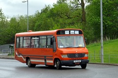 DA, Coatbridge FIG6948 (busmanscotland) Tags: fig da mercedesbenz cheetah coaches vario coatbridge plaxton nkw 6948 p620 o814 fig6948 p620nkw