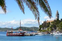 Island Hopping - Lopud (scuba_dooba) Tags: trip cruise sea islands boat europe south eu croatia east balkans southeast peninsula yugoslavia adriatic balkan lopud elafiti elaphiti elaphites otoci kalamota calamotta elafitski