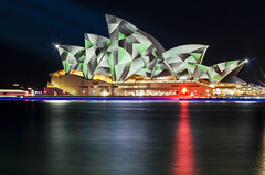 Light Sails (Eduardo_il_Magnifico) Tags: longexposure night lights lowlight tripod sydney sails vivid australia worldheritagesite projection nsw newsouthwales sydneyharbour blend sydneyoperahouse 50mmf18 nikond7000 sydneylightfestival vivid2015