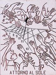 Attorno al sole (Alfredo Liverani) Tags: italien italy clock canon italia sundial sundials orologio italie emiliaromagna meridiana uhr romagna g12 solaire sonnenuhr cadran solare meridiane bagnacavallo cadransolaire solaires sonnenuhren cadrans orologiosolare cadranssolaires canong12 rellotgessolars relojessolares bagnacavallo2015