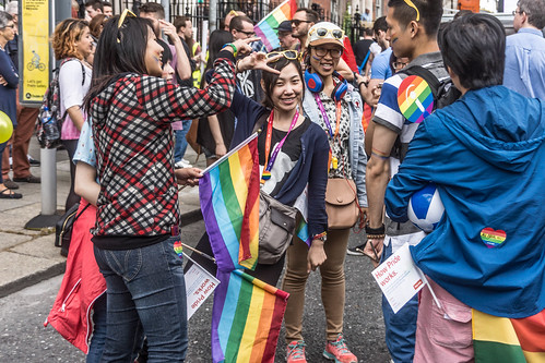 DUBLIN 2015 LGBTQ PRIDE PARADE [WERE YOU THERE] REF-106014