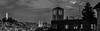 western capitol towers (pbo31) Tags: sanfrancisco california city summer blackandwhite panorama black skyline night dark nikon over large july panoramic coittower bayarea transamerica telegraphhill stitched russianhill d800 2015 boury pbo31