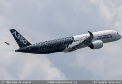 Airbus Industrie Airbus A350-941 (F-WWCF) (Michael Davis Photography) Tags: atlanta airplane photography atl aviation flight jet airbus departure atlantaairport takeoff runway airliner jetliner commercialjet katl airbusa350 a350 a350900 fwwcf