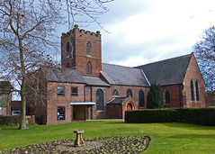 Lye, West Midlands, Christ Church. (Tudor Barlow) Tags: winter england churches westmidlands lye parishchurch lumixfz200