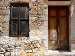 RHODES TYPE AND TEXTURES (Chris Draper) Tags: rhodes greece greekisland texture textures paint meditteranean window windows door doors brightcolour architecture shutter shuttered