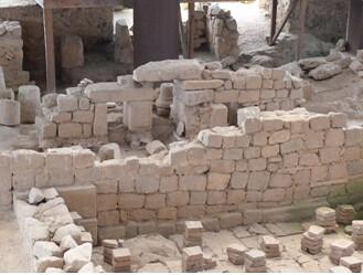 Ruínas das termas romanas da Cividade