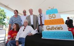 07-31-2015 Governor Bentley celebrates Guthrie's 50th Anniversary in Haleyville