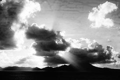 Caribbean Sea series-And there was light (Carlos A. Aviles) Tags: caribbeansea mar caribe sea water sky clouds cielo nubes sunrise amanecer
