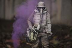 IMG_1665 (wadetaylor) Tags: threea threeacustom smoke smokeball coloredsmoke gasmask sparks