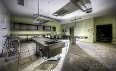 Dark Patho (Michal Seidl) Tags: abandoned hospital verlassene krankenhaus klinik ehemalige opuštěná nemocnice pitevna autopsy morgue pathology mortuary hdr urbex austria canon