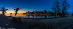 Xmas-13 (Robert Henrickson) Tags: christmasmorning twilight bluehour coalharbour vancouverisawesome explorebc nightscape panorama longexposure vancouver stanleypark sunrise