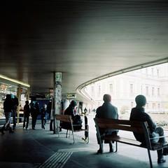 Station by deco_o - Airesflex Automat Nikkor Q 75mm F3.5  Kodak portra160