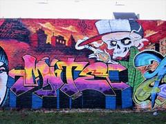WCHS / Denderlaan - 2 jan 2017 (Ferdinand 'Ferre' Feys) Tags: gent ghent gand belgium belgique belgië streetart artdelarue graffitiart graffiti graff urbanart urbanarte arteurbano asit bertvuylsteke masec madjuice