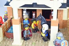 Salusian Stables - Sabur-uru (Cuahchic) Tags: lego foitsop landsofroawia loreos horses skuda skudae oriental stables stud mongols