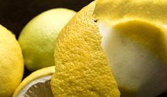 lemon peels (explore) (George Detsaris) Tags: reflector lemon food closeup sonya6000 kitlense green fresh yellow macro texture macromondays hmm macrounlimited macrodreams itsapeelingtome indoor