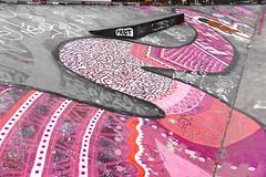 Snake ramp (ericbaygon) Tags: bruxelles brussel belgique belgium belgie skate skatepark ramp rampe skateboard d750 nikon nikonpassion fx pink rose magenta purple