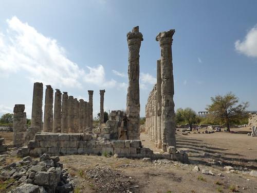 Uzuncaburc Temple of Zeus, basilica (14)