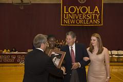 Hall of Fame Class of 2017 (LoyolaNOLA) Tags: loyolauniversityneworleans hall fame athletics jesuit