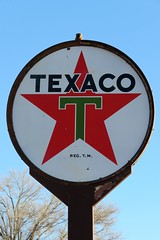 Texaco (Patricia Henschen) Tags: hatch newmexico texaco gasoline gas station star advertising kitch vintage