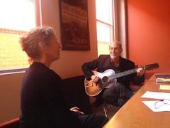 Esti Kenan Ofri & Michael Alpert (spagnoloacht) Tags: music berkeley ucberkeley yiddish ladino
