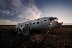 Sólheimasandur (SkylerBrown) Tags: travel abandoned beach plane airplane iceland desert destroyed ísland sólheimasandur