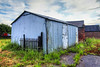 Shed (Charliebubbles) Tags: shed hdr corrugated photomatix 290615 photomatixpro4 olympuspenmini coougatedshed