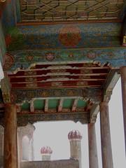 The Hazrat Hyzr Mosque, Samarkand, June 2015 (leonyaakov) Tags: summer museum ceramic minaret muslim religion ceremony mosque unesco promenade uzbekistan samarkand citycenter sunnyday citytour ouzbekistan greatphotographers inspiredbylove   nikonflickraward