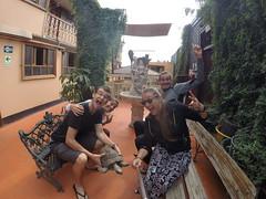 Photo de 14h - Retrouvailles avec nos potes (Lima, Pérou) - 15.06.2014