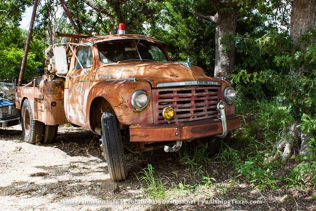 abandoned texas trucks weatherford fordf100 studebakertowtruck