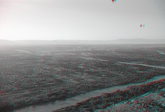 Balloon Flight on 6-21-15 (CaptDanger) Tags: trees newmexico 3d albuquerque anaglyph fromabove nm aerialphotography fromtheair 3dglasses 3dimensional aerialphotographs riogranderiver 3dimages 3dimage 3dphotography 3dpicture anaglyph3d anaglyphglasses albuquerquebosque newmexicoin3d albuquerquenmin3d bosquein3d treesinthesummer hotairballoonin3d