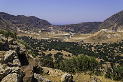 Lakki Plateau, Nissyros (Paul E. Dyer) Tags: travel summer mountain holiday tourism outdoors island greek volcano islands holidays outdoor plateau aegean greece crater geography 1855mm volcanic active dormant 2015 dodecanese f3556 nissyros nikor d3200 dodecaneseislands 180550mmf3556vr activedormantvolcanicisland lakkiplateau
