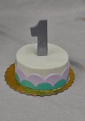 Mermaid smash cake (jennywenny) Tags: birthday cake smash first mermaid
