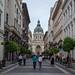 A walk towards St. Stephen's Basilica, Budapest, Hungary