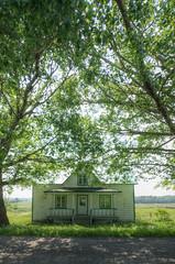 La maison de ma grand-mre (Patrice StG) Tags: house green countryside gimp vert qubec maison campagne hdr sigma1020 tonemapping mantiuk06 luminancehdr