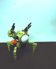 Rotter 4C (SuperHardcoreDave) Tags: tank lego quad walker fantasy weapon scifi mecha mech moc autonomous