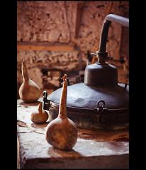 Omodos (flipr.uno) Tags: still cyprus distillery contrejour pumkin vinery zypern counterlight omodos stillpot