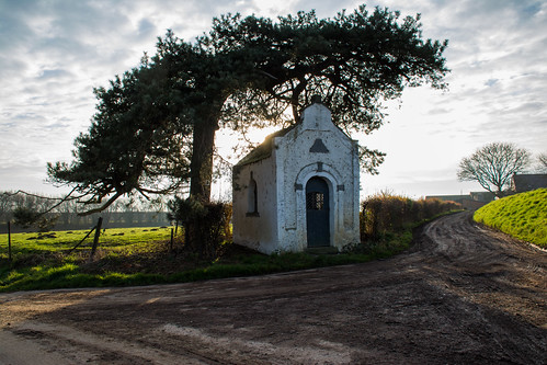 Little chapel on the road.