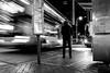 Bus Stop (Wilson Au | 一期一会) Tags: admiralty hongkong busstop monochrome blackandwhite back fujifilm xe2 fujifilmxe2 fujinon xf1855mmf284rlmois slowshutter bus night elderly